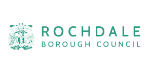 Rochdale Borough Council logo linking to related Case Study example